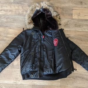 Juicy Couture bomber jacket